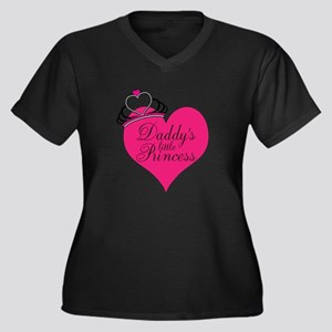 Daddys Little Princess Plus Size T-Shirt