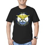 USS LOCKWOOD Men's Fitted T-Shirt (dark)