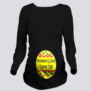 Mommy's Easter Egg Long Sleeve Maternity T-Shirt