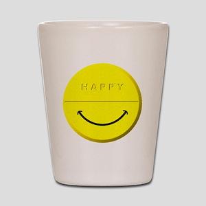 Happy Pill Shot Glass