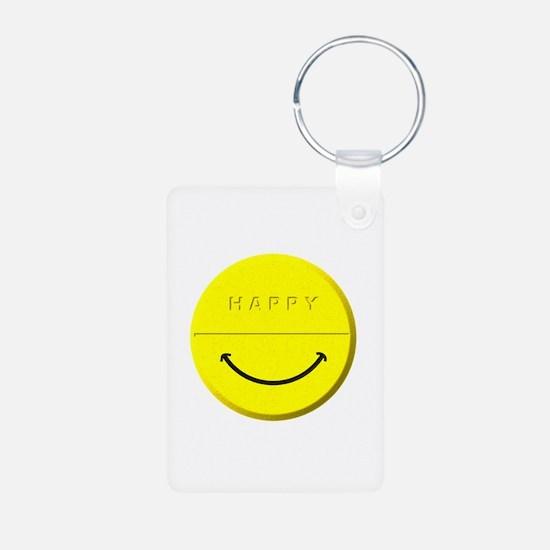 Happy Pill Keychains
