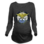 USS LOCKWOOD Long Sleeve Maternity T-Shirt