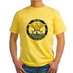 USS LOCKWOOD Yellow T-Shirt