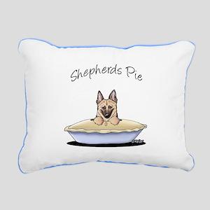 Shepherds Pie Rectangular Canvas Pillow