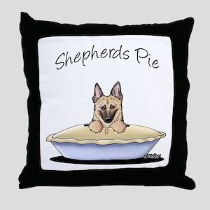Shepherds Pie Throw Pillow