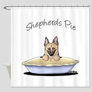 Shepherds Pie Shower Curtain