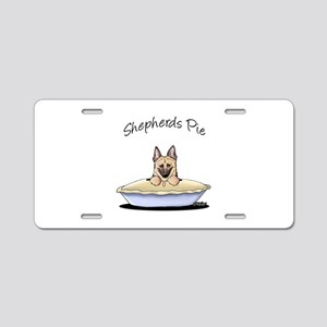 Shepherds Pie Aluminum License Plate