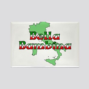 Bella Bambina Rectangle Magnet