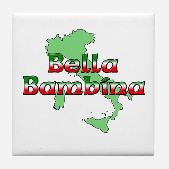 Bella Bambina Tile Coaster