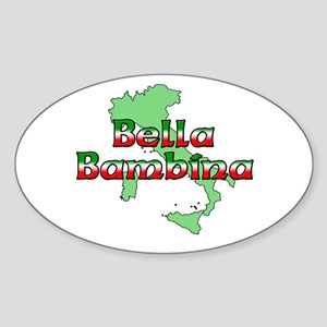 Bella Bambina Oval Sticker