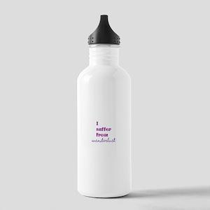 I Suffer from Wanderlust Water Bottle