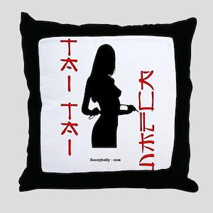 Tai Tai Rules Throw Pillow