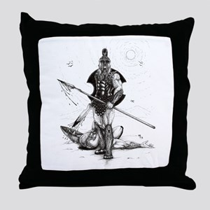 Achilles Throw Pillow