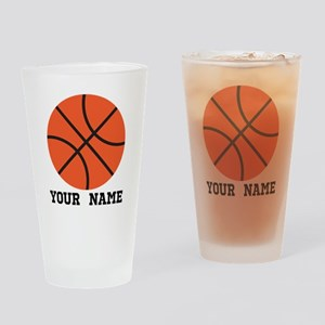 Basketball Sports Personalized Gift Drinking Glass