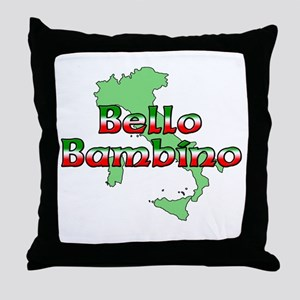 Bello Bambino Throw Pillow