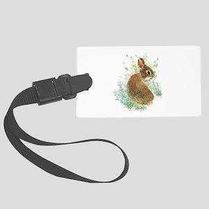 Cute Watercolor Bunny Rabbit Pet Animal Large Lugg