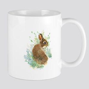 Cute Watercolor Bunny Rabbit Pet Animal Mugs