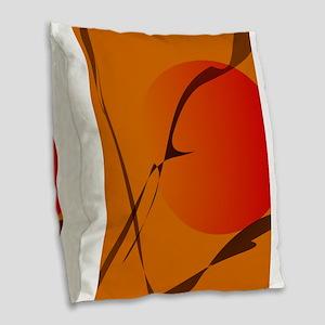 Oriental Sunset Japanese Wood Block Print Style Bu