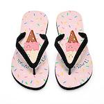 Ice Cream Lovers Flip Flops