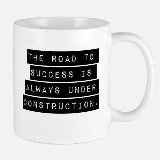 The Road To Success Mugs
