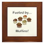 Fueled by Muffins Framed Tile