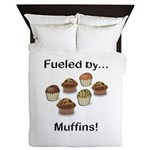 Fueled by Muffins Queen Duvet