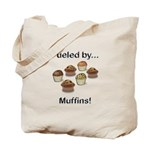 Fueled by Muffins Tote Bag