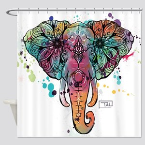 Haathi Shower Curtain
