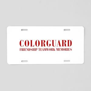 Colorguard Aluminum License Plate