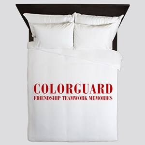 Colorguard Queen Duvet