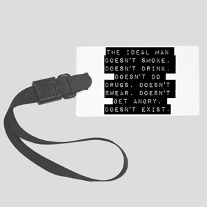 The Ideal Man Luggage Tag