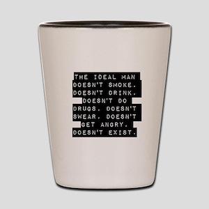 The Ideal Man Shot Glass