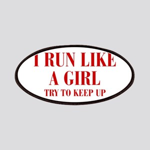 I-run-like-a-girl bod Patches
