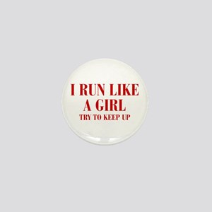 I-run-like-a-girl bod Mini Button