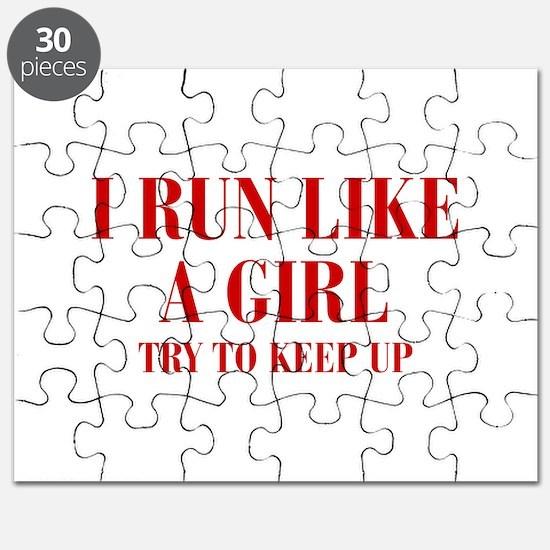 I-run-like-a-girl bod Puzzle