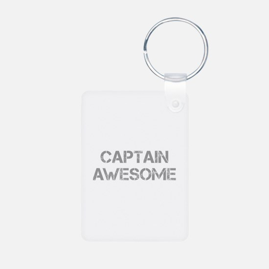 captain-awesome-CAP-GRAY Keychains