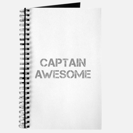 captain-awesome-CAP-GRAY Journal