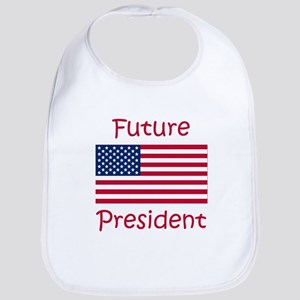 Future President USA Flag Bib