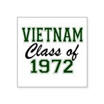Vietnam Class of 1972 Sticker