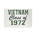 Vietnam Class of 1972 Magnets