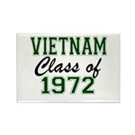 Vietnam Class of 1972 Magnets
