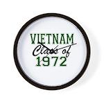 Vietnam Class of 1972 Wall Clock