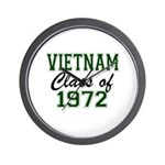 Vietnam Class of 1972 Wall Clock