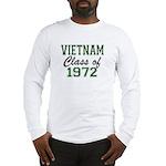 Vietnam Class of 1972 Long Sleeve T-Shirt