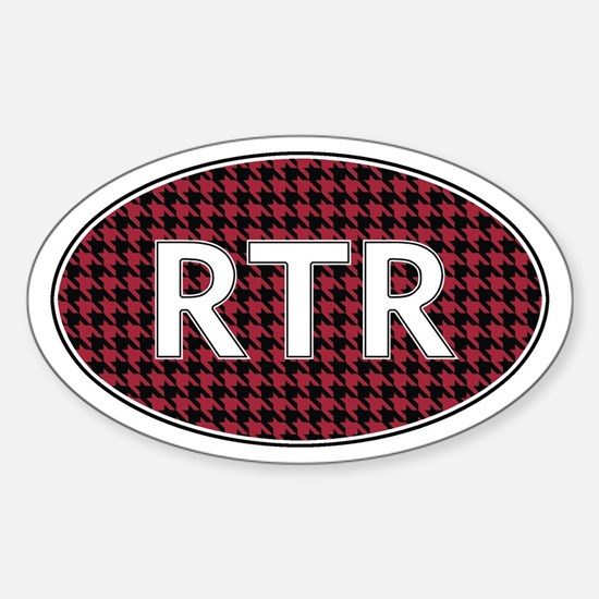 Rtr Sticker (oval)