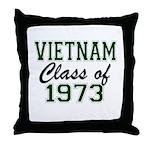 Vietnam Class of 1973 Throw Pillow