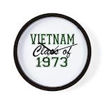 Vietnam Class of 1973 Wall Clock