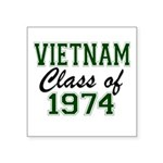 Vietnam Class of 1974 Sticker