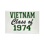 Vietnam Class of 1974 Magnets
