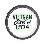 Vietnam Class of 1974 Wall Clock